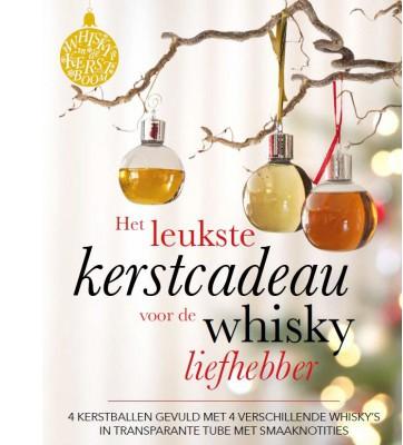 Whisky Kerst ballen cadeau