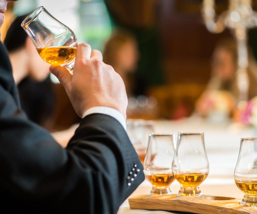 Whisky Kerstballen tasting
