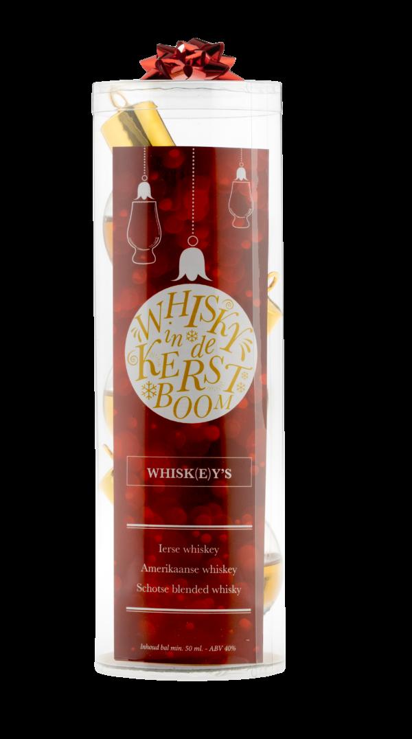 Whisky Kerstballen