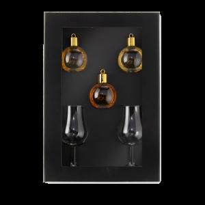 Whisky kerstballen relatiegeschenken doos – Whisky kerstballen